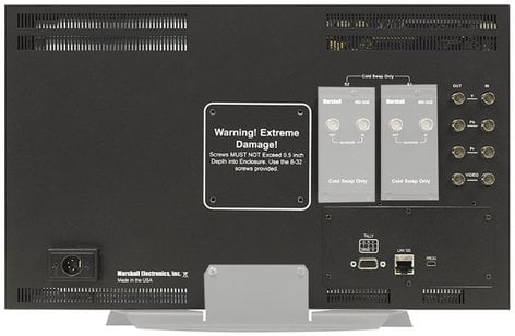 "Marshall Electronics V-MD173 6RU 17"" Full Resolution Rack Mount Standalone Monitor with Modular Inputs V-MD173"