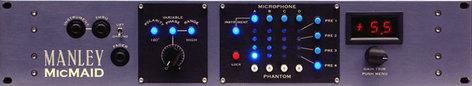Manley Laboratories MicMaid Microphone/ Microphone Preamp Matrix-Switcher MMAID