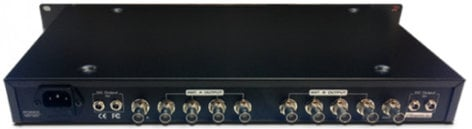 RF Venue DISTRO4 4-Channel RF + DC Antenna Distribution System DISTRO4
