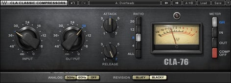 Waves CLA-76 Compressor/Limiter Plugin CLA76TDM