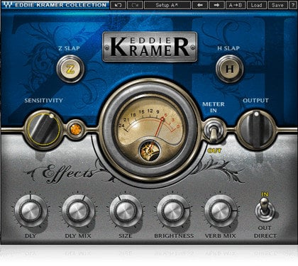 Waves Eddie Kramer Signature Series Audio Processing Plugin Bundle EKSIGSG