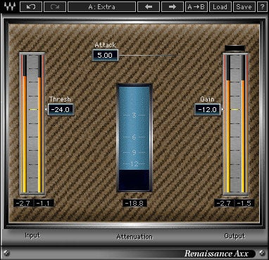 Waves Renaissance Axx Compressor Plugin RAXXTDM