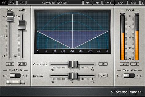 Waves S1 Stereo Imager Plugin V5-S1D40