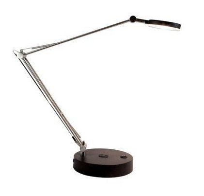 Mighty Bright 75010 LUX Wired Task Light in Black 75010