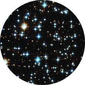 Rosco Laboratories 86754 Stars Final Frontier Glass Gobo 86754