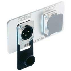 Neutrik SCDM Rubber Seal Cover for D-Series Male XLR Receptacles SCDM