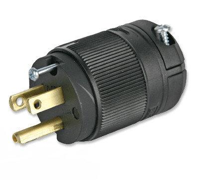 Lex Products Corp X515P 15A 125 VAC NEMA 5-15 Lex-Loc Edison Plug X515P
