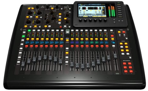 Behringer X32 COMPACT TP 40-Input 25-Bus Digital Mixing Console with Touring Case X32-COMPACT-TP
