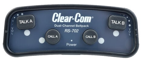 Clear-Com RS702 2-Channel Belt Pack RS702