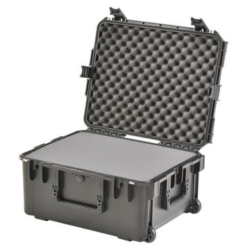 "SKB Cases 3I-2217-10BD 22"" L x 17"" W x 10"" D Mil-Std Waterproof Case with Wheels and Divider in Gray 3I-2217-10BD"