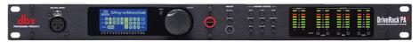 DBX DriveRack PA2 Loudspeaker Management Signal Processor DRIVERACK-PA2