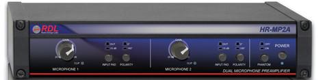 Radio Design Labs HR-MP2A  Dual Microphone Preamplifier  HR-MP2A
