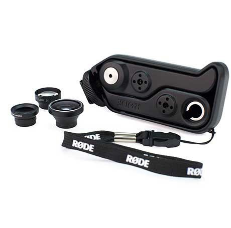 Rode RODEGRIP+ Mount & Lens Kit for the iPhone4/4S RODEGRIP+4
