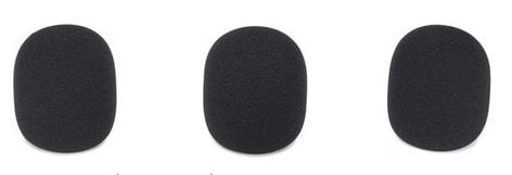 Samson SASE50BWS 3 Pack of Black Windscreens for the SE10 and SE50 Earset Microphones SASE50BWS