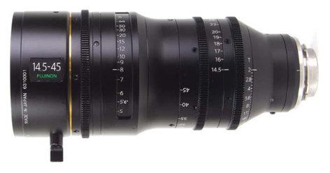 Fujinon HK3.1X14.5 14.5-45mm HK Premier PL 4K+ Wide-Angle Zoom Lens HK3.1X14.5