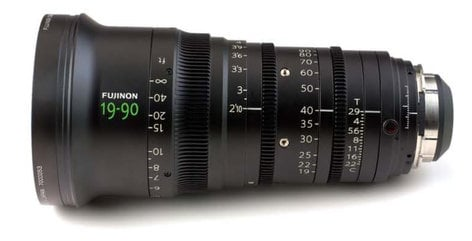 Fujinon Inc ZK4.7X19 19-90mm T2.9 PL ZK Cabrio Compact Zoom Lens with Servo ZK4.7X19