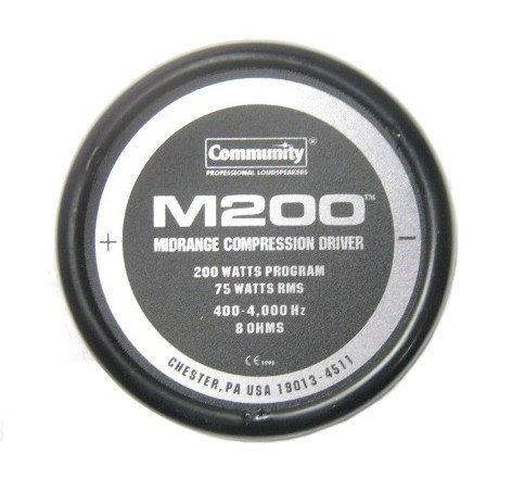 Community M200  Midrange Driver Assembly M200