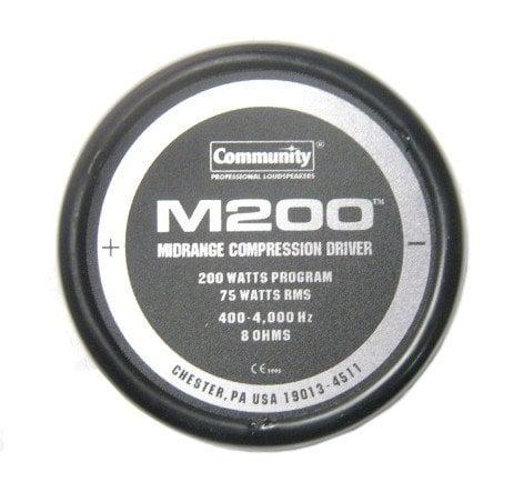 Community M200  Midrange Driver Assembly M200