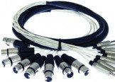 Pro Co MT8RXM-10 8-Ch 10ft RCA Male to XLR Male Cable MT8RXM-10