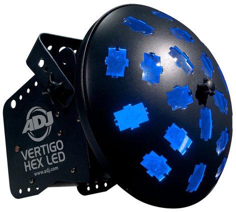 ADJ Vertigo Hex LED 6-In-One LED DJ Effect Light VERTIGO-HEX-LED
