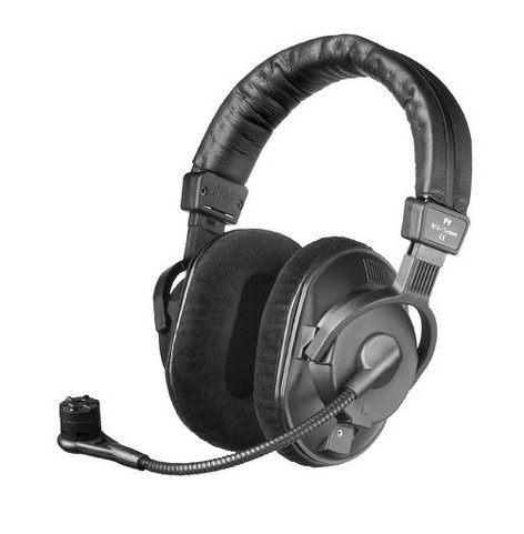 Beyerdynamic DT297-PV-MKII-80  Broadcast Headset with Condenser Microphone DT297-PV-MKII-80