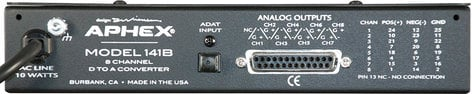 Aphex 141B  8-Channel ADAT to Analog Converter 141B