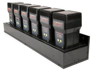 Sports Select SPL-SSR6PAKS2 Receiver Package with 6 Receivers and a 6-Bay Charger SPL-SSR6PAKS2