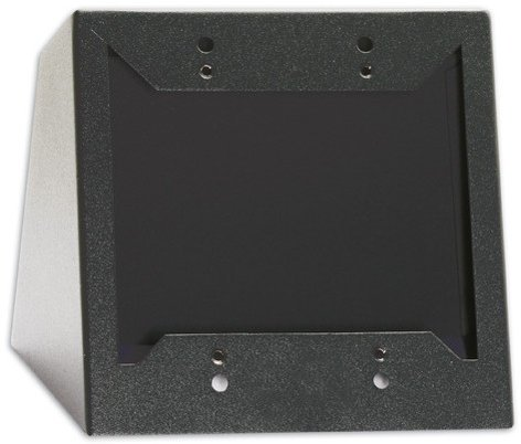 Radio Design Labs DC-2B Desktop or Wall Mount Chasis for Decora Remote Controls and Panels in Black DC-2B-RDL