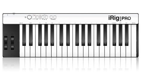 IK Multimedia iRig KEYS PRO Full-Sized Key Universal Mobile Controller IRIG-KEYS-PRO