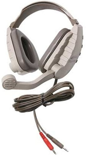 "Califone International DS-9V Discovery Headset with 1/8"" Mono Headphone Plug and 1/8"" Stereo Microphone Plug DS-9V"