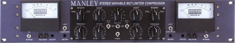 Manley Laboratories Variable Mu Stereo Limiter Compressor MSLCHP