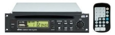 MIPRO 8CD0034  CD/USB Player PA Module with Remote Control 8CD0034