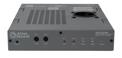 Atlas Sound DPA-102PM Networkable 100W 2-Channel Power Amplifier DPA-102PM