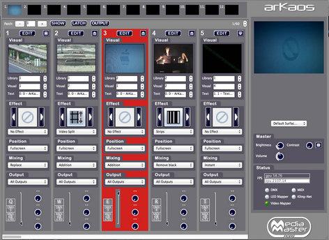ArKaos MediaMaster Pro Video Control Software AKMEDIAMPRO