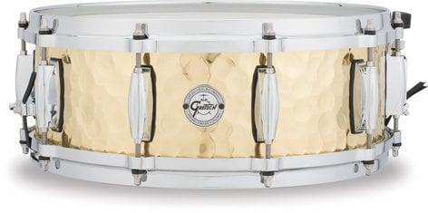 """Gretsch Drums S1-0514-BRH 5""""x14"""" Hammered Brass Snare Drum S1-0514-BRH"""