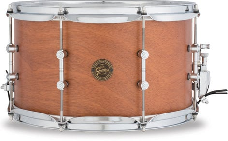 """Gretsch Drums S1-0814SD-MAH 8""""x14"""" Gold Series Swamp Dawg Snare Drum S1-0814SD-MAH"""