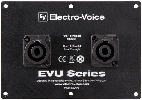 Electro-Voice EVU-CDNL4  Dual NL4 Connector Cover Plate for EVU Series Speakers EVU-CDNL4