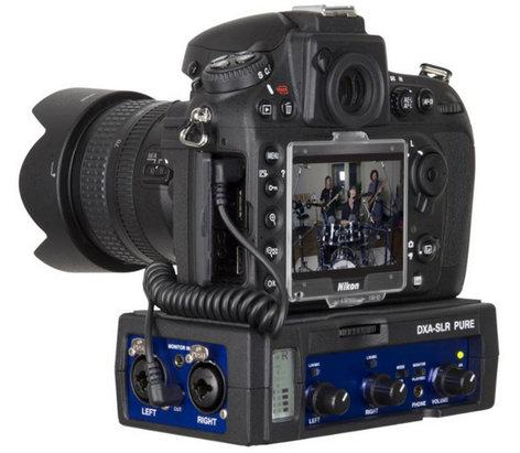 BeachTek DXA-SLR-PURE Passive Audio Adapter for DSLR Cameras DXA-SLR-PURE