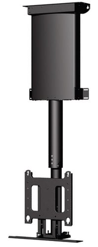 """Chief Manufacturing CM2C40U 32 - 61"""" Automated Ceiling Lift for Display Mount in Black CM2C40U"""
