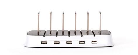 Griffin Technology PowerDock 5 5 iOS Device Charging Station POWERDOCK-5
