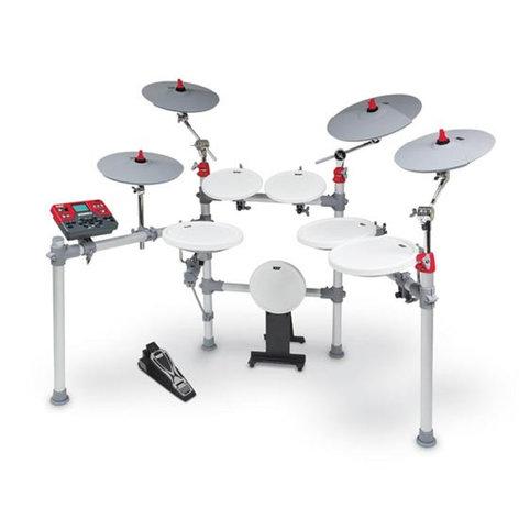 KAT Percussion KT3 6 Piece Digital Drum Set KT3