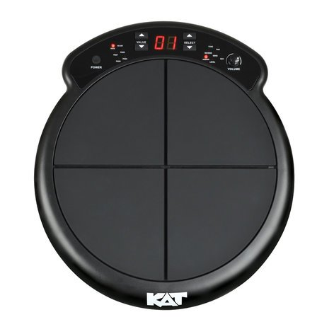 KAT Percussion KTMP1 Electronic Drum Pad with Sound Module KTMP1