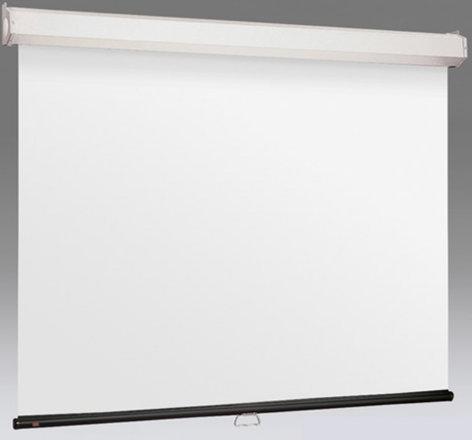 "Draper Shade and Screen 206171  94"" 16: 10 Luma 2 Manual Projection Screen with Matt White Surface 206171"