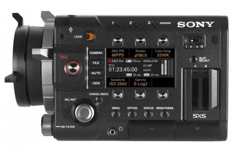 Sony PMW-F55 CineAlta 4K HD Camcorder without Lens PMWF55