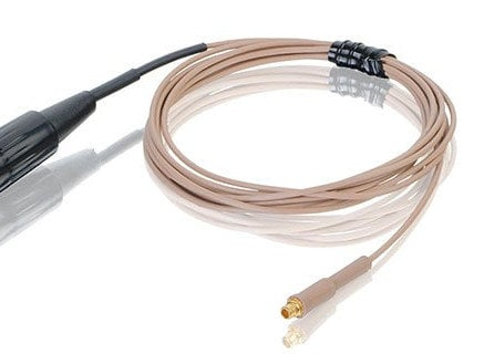 Countryman E6CABLET2-TS 2mm Duramax E6 Cable for Telex A4F Dmax Wireless in Tan E6CABLET2-TS