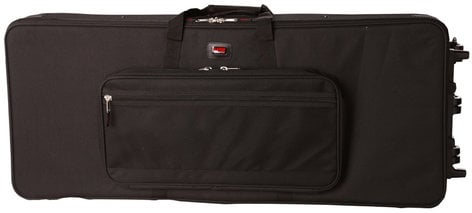 Gator GK-76-SLIM 76-Note Keyboard Case with Wheels GK-76-SLIM
