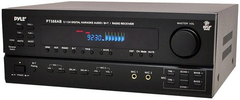 Pyle Pro PT588AB 5.1 Channel Receiver with HDMI, Bluetooth and AM/FM Radio PT588AB
