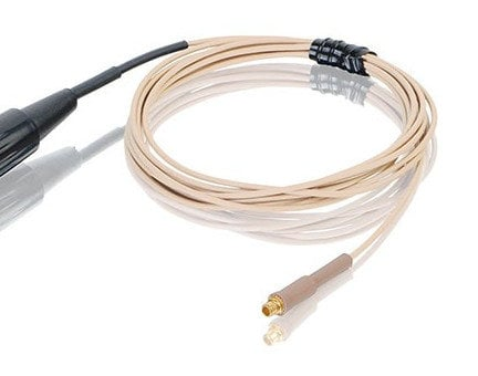 Countryman E6CABLEL2S2 2mm Duramax E6 Cable for Sennheiser Lemo Wireless in Light Beige E6CABLEL2S2