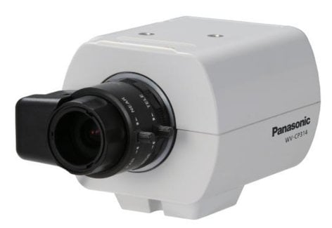 Panasonic WV-CP314 Day/Night Fixed Analog Color Security Camera in White WVCP314