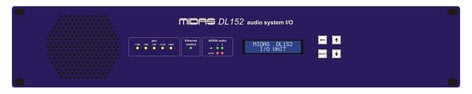 Midas DL152  24-Output Stagebox with Dual-Redundant AES50 Networking DL152